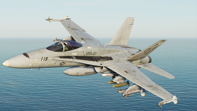 Chuck's First Impressions of the DCS F/A-18C Hornet - Flight Sims