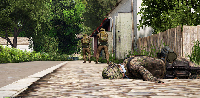 The Sark Raid (ARMA 3) - Screens & AARs - Mudspike Forums