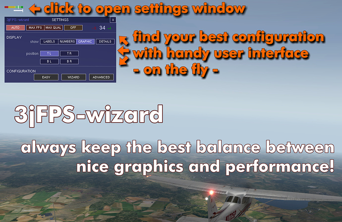 X-Plane 3jFPS Wizard for VR - Flight Sims - Mudspike Forums