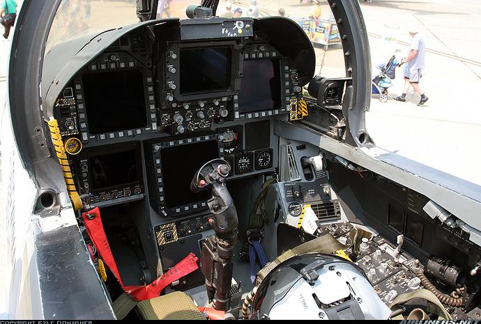 FA18 Super Hornet Cockpit View  Militarycom