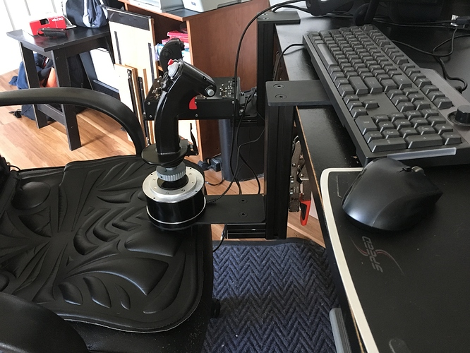 MonsterTech Joystick/HOTAS Table Mounts Review | Mudspike
