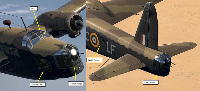 A pair of external screenshots showcasing the playable positions in the model.