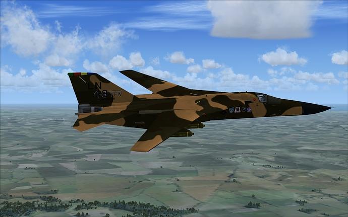 F-111E swept