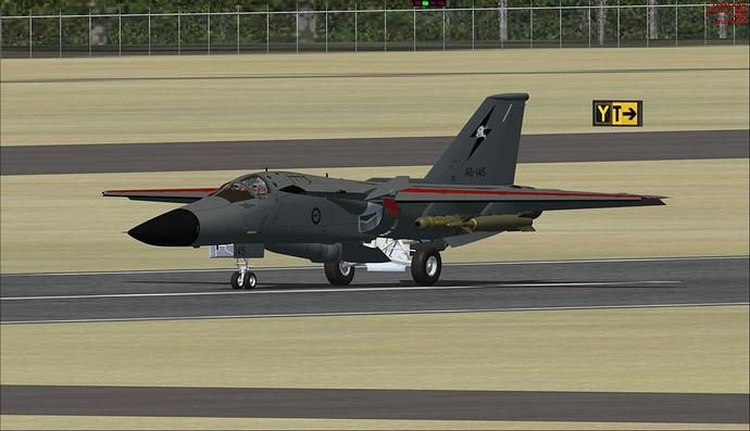 General Dynamics F-111G 3