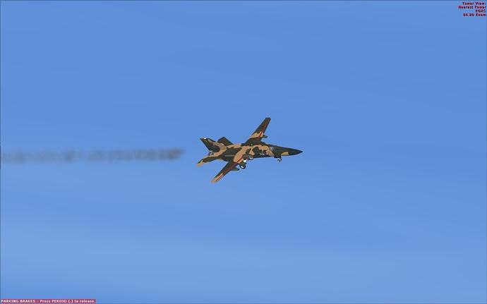F-111E smokey base leg