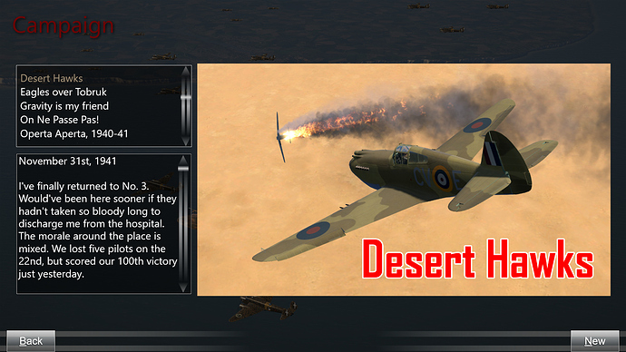 A description of the Tomahawk campaign.