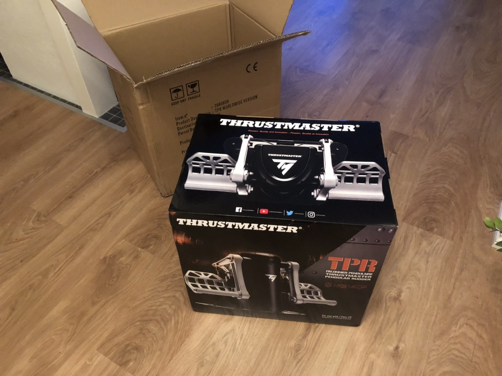 Thrustmaster Rudder Pedals - Hardware & Tech Questions