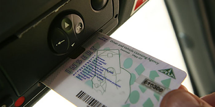 Tacho-card-inserted