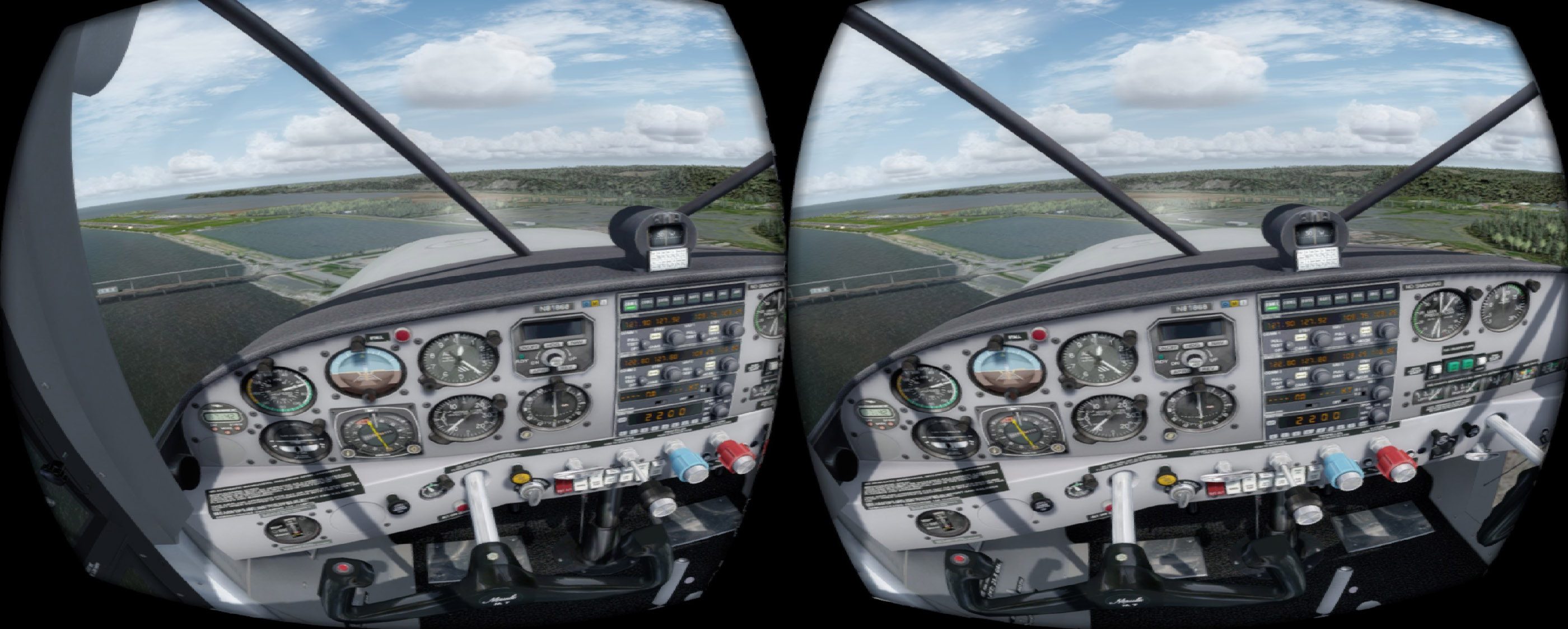 VR in P3D v4 3 is getting good    - Flight Sims - Mudspike