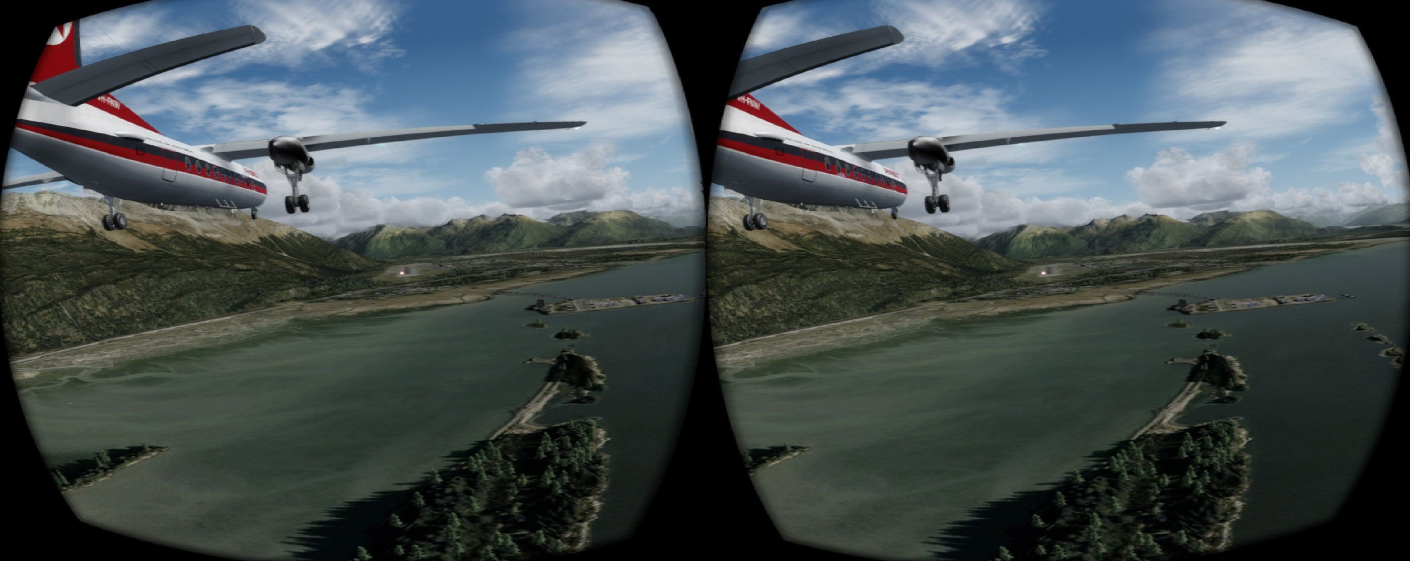 VR in P3D v4 3 is getting good    - Flight Sims - Mudspike Forums