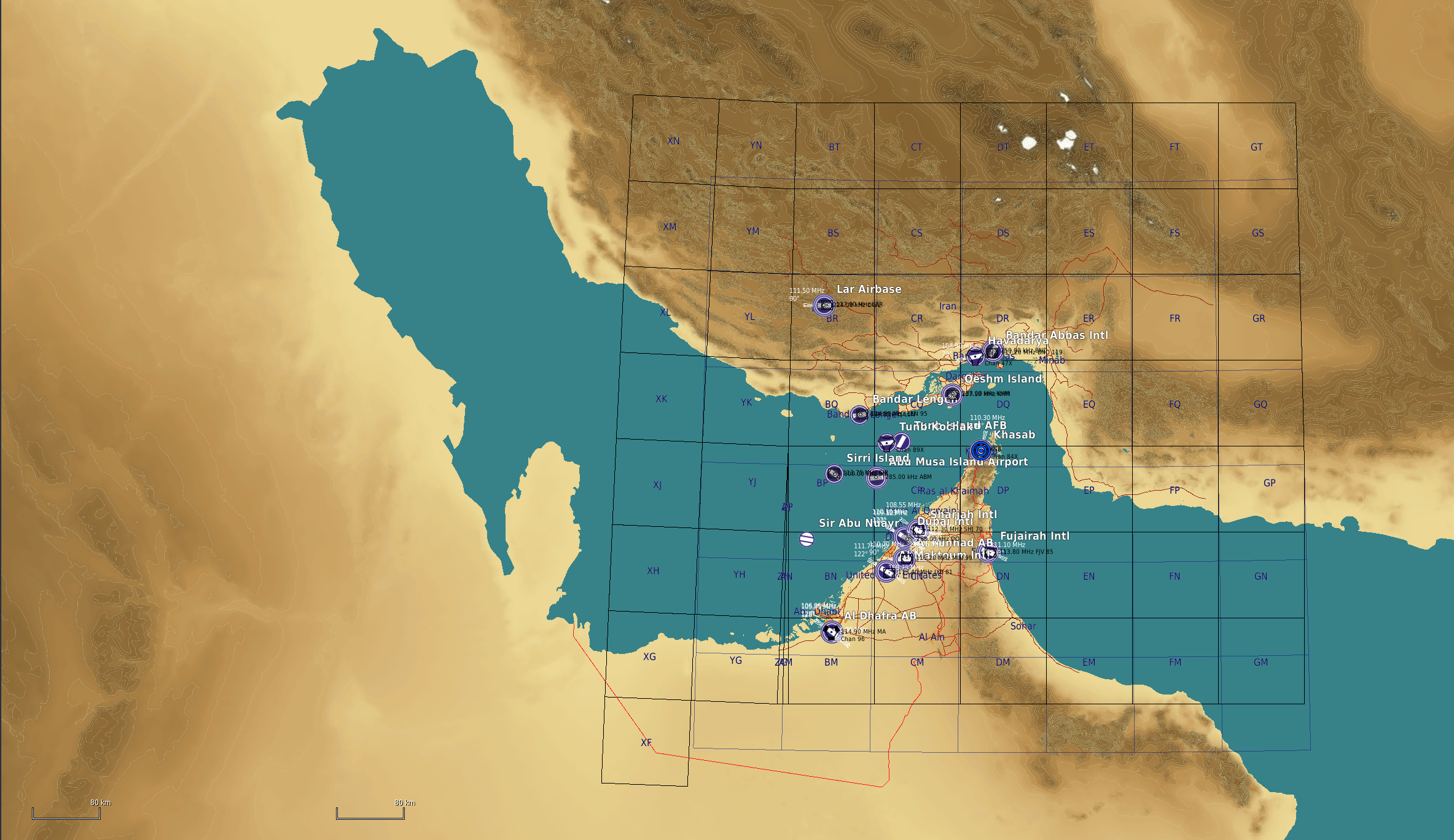 Persian Gulf for DCS World (formally known as Straits of Hormuz ...