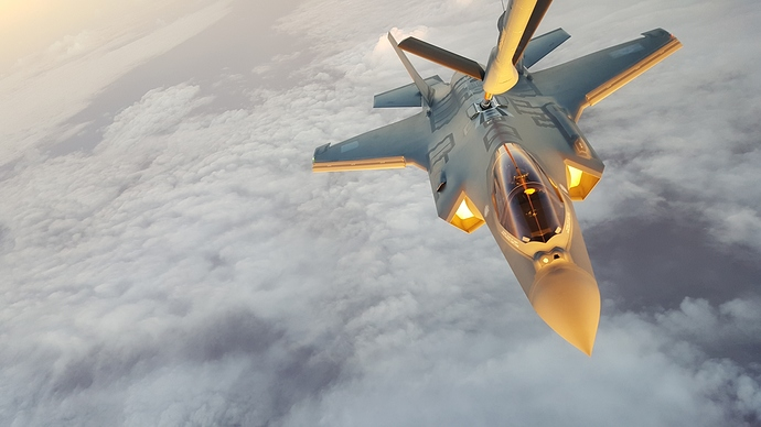 F 35 Lightning 2 Refuel